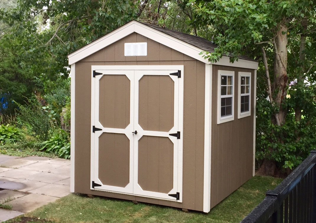 A-Frame Gable Shed
